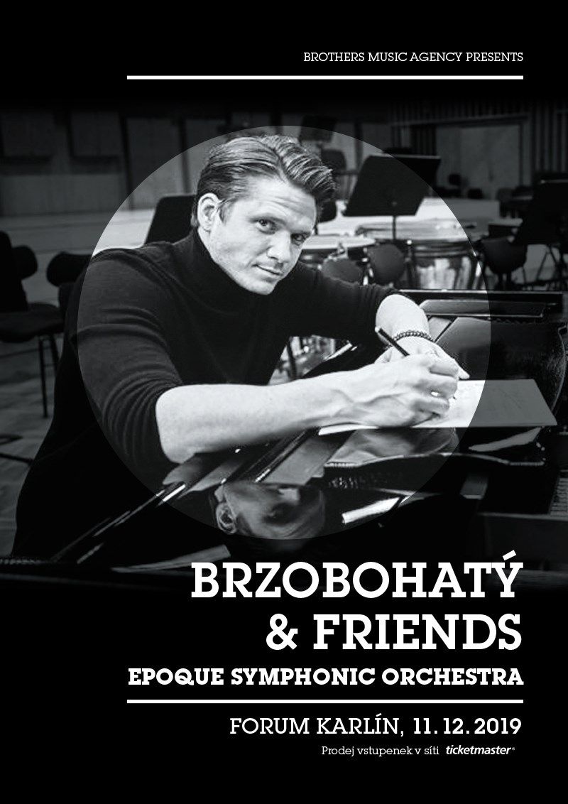 Brzobohatý & friends (poster)