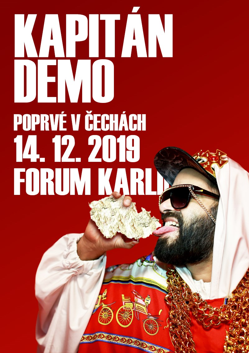 Kapitán Demo (plakát)