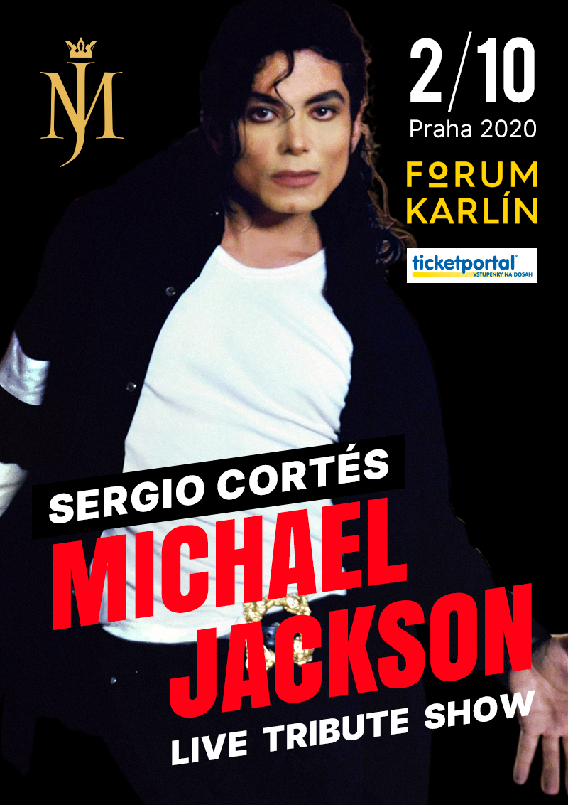 Sergio Cortés – Michael Jackson tribute show (plakát)