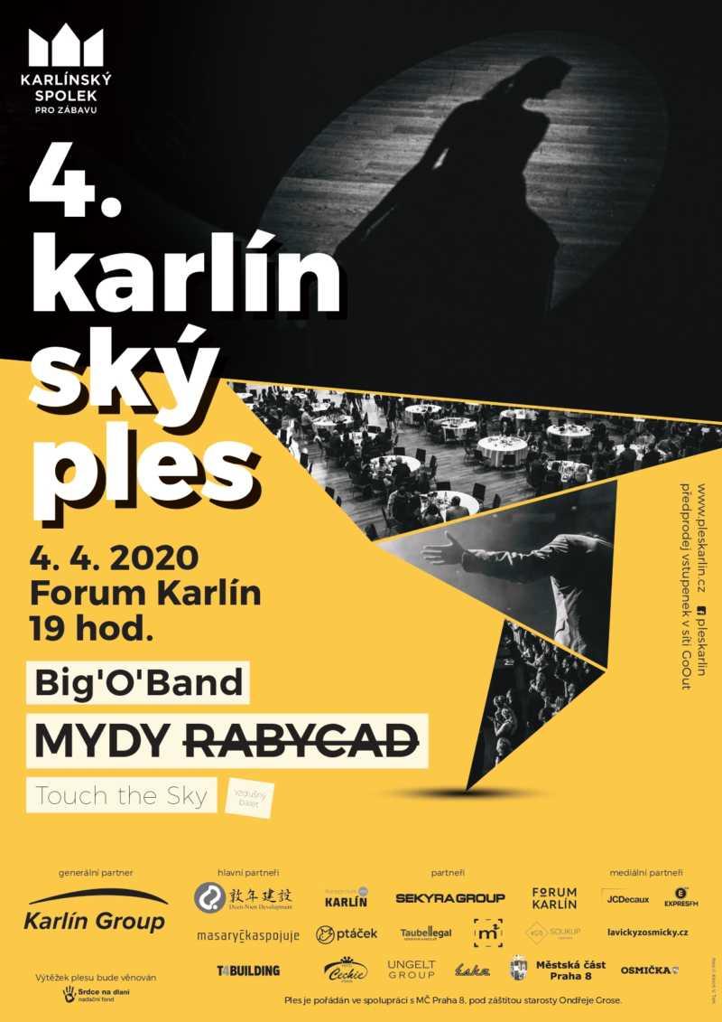 4. Karlínský ples (poster)