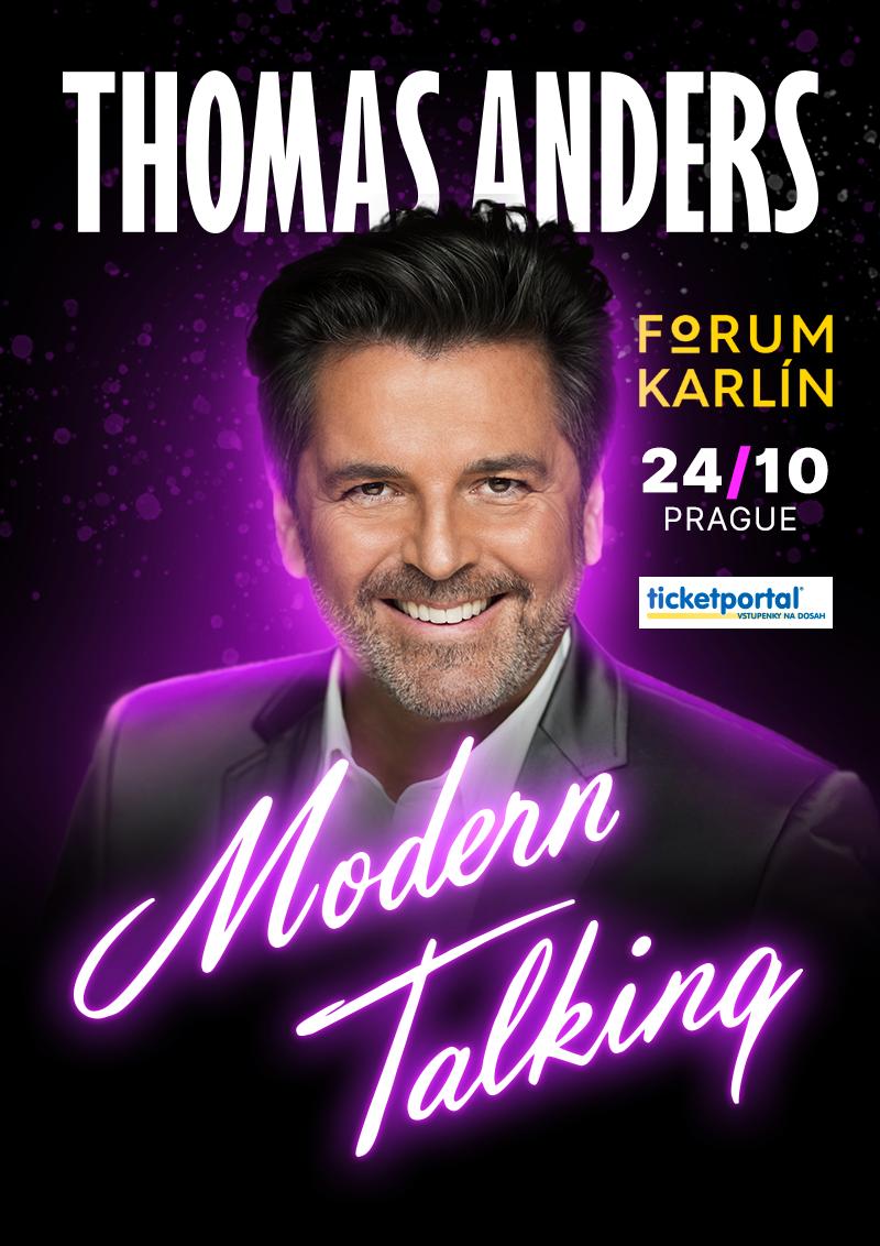 Thomas Anders & MODERN TALKING band (plakát)